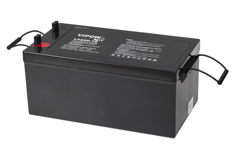 Baterie gelová  trakční ( záložní ) Vipow  12V 250Ah