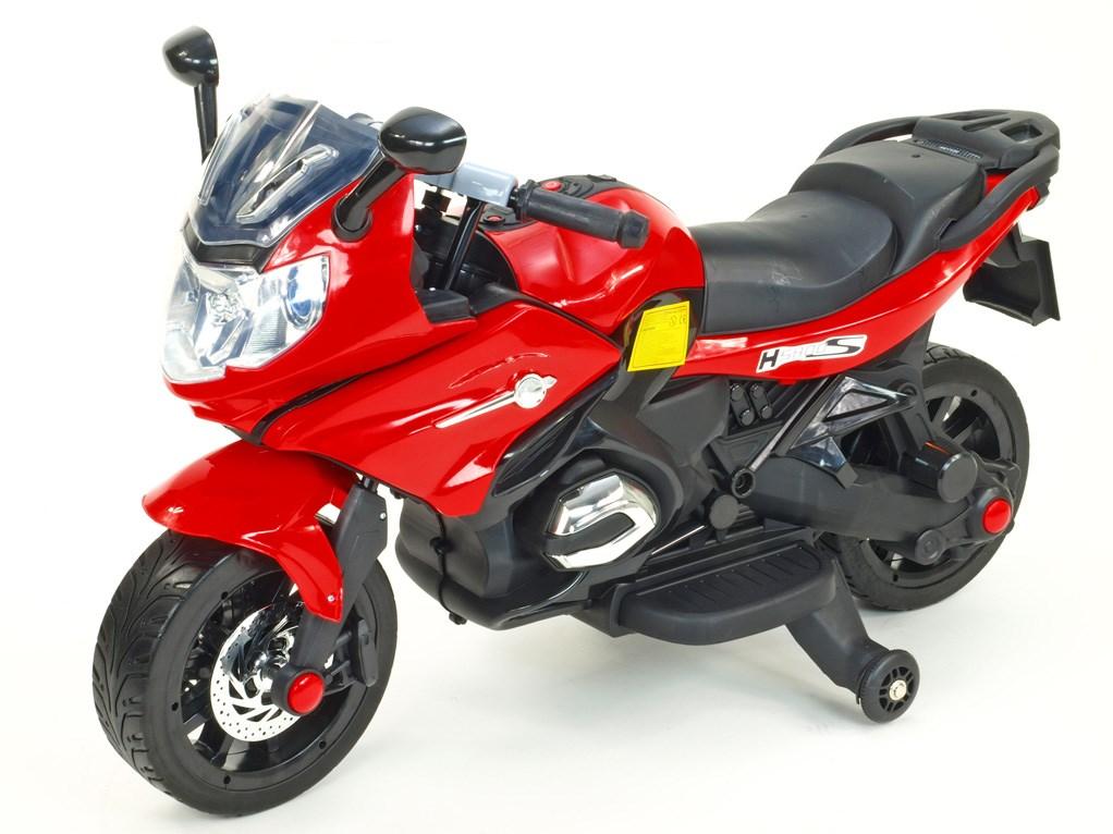 Dětská silniční závodní motorka 12V