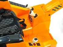 Dětský elektrický bagr - FL858 žlutý