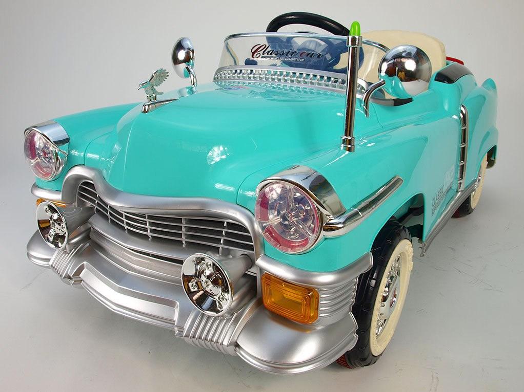 Dětské autíčko Retro KUBA NEW KB5018.tyrkys