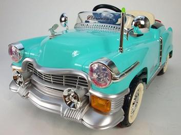 Dětské autíčko Retro KUBA NEW s 2,4G DO  zelená