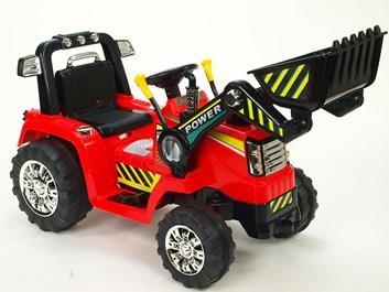 Dětský elektrický traktor se lžící - ZP1005.red