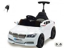 Dětské licenční el. autíčko BMW s vodící tyčí