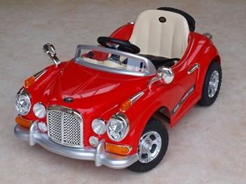 Luxusní sportovní retro auto  s 2,4G dálkovým ovladačem, červené