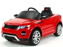 Dětské el. autíčko Licenční Range Rover EVOQUE červená pohled z předu