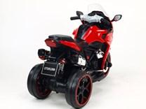 Motorka - Tricykl Dragon s osvětlenými koly,motory 2x6V,pérováním nápravy,digiplayer USB,Mp3,voltmetr,LED osvětlení