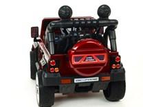 Dětské elektrické autíčko Džíp Courage s 2,4G DO -DKF006LAKČV-zadní pohled