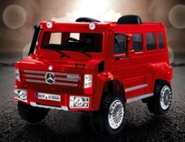 Mercedes Benz Unimog U500 s 2,4G DO,  hasičský záhraný sbor