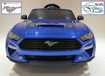 Driftovací  elektrické autíčko licenční  Ford Mustang 5.0 GT - lakované modré