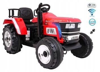 Největší dětský elektrický traktor  BLAZIN  s 2,4G dálkovým ovladačem - červený