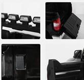 Dětské el. autíčko Toyota Tundra 12V s 2,4G DO pro 2 děti střední velikost,černá