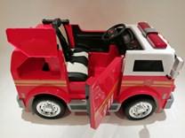 Dětské elektrické autíčko , dvoumístný hasičský vůz 4x4 s 2,4G dálkovým ovladačem