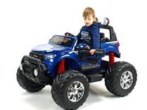 Dětské elektrické autíčko  džíp Ford Ranger Monster Truck 4x4 modrá