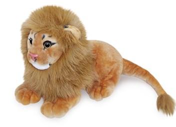 Plyšový lev ležící