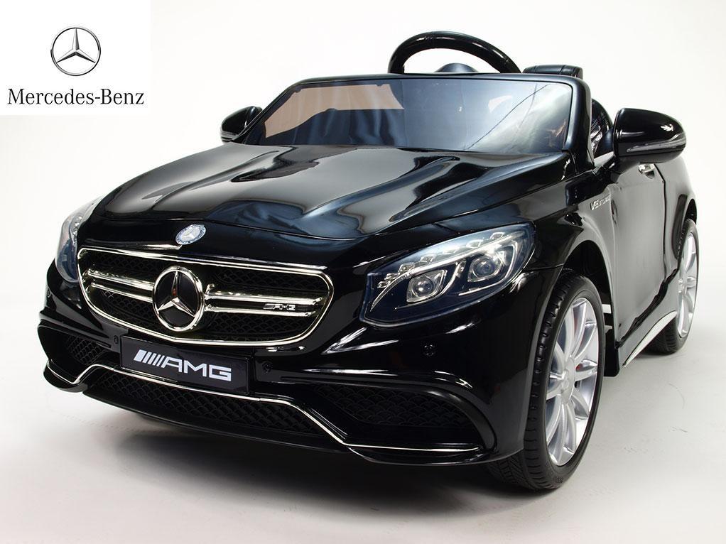 Dětské el. autíčko licenční Mercedes Benz S63 AMG  HL169.black