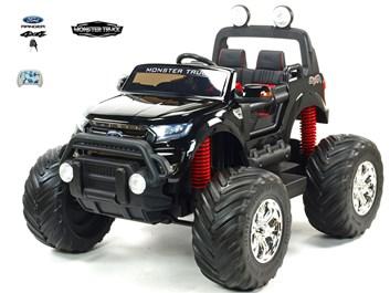 Dětské elektrické autíčko  džíp Ford Ranger Monster Truck 4x4  černá metalíza SLOŽENÝ