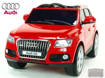 Audi Q5 TFSI quattro s 2.4G DO, otvíracími dveřmi, USB, TF, Mp3, LED osvětlení, pérováním ,červená -  II. jakostní třída laku