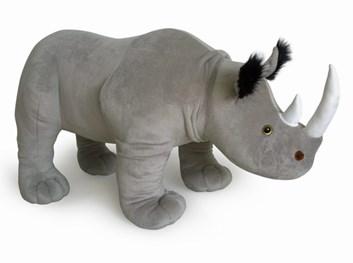 Plyšový nosorožec stojící