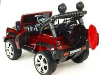 Dětské elektrické autíčko Džíp Courage s 2,4G DO -DKF006LAKČV-kufr