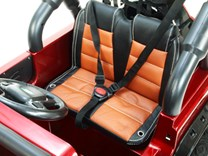 Dětské elektrické autíčko Džíp Courage s 2,4G DO -DKF006LAKČV-sedačka