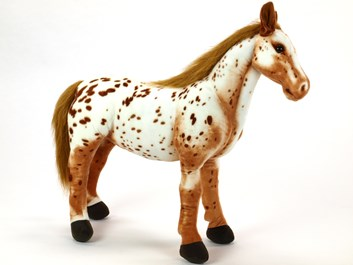 Plyšový kůň Apalosa 94 cm