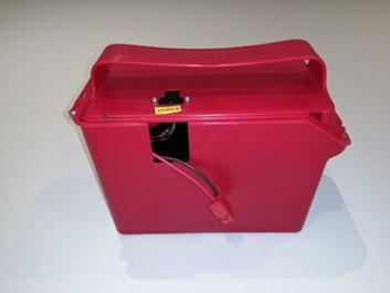 Baterie  gelová  v boxu 24V/7Ah  pro jeep Willys