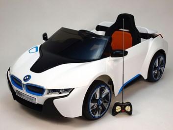 Dětské el. auto BMW I8 Concept LUX s 2,4G DO bílá