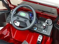 Dětské el autíčko Land Rover Defender s 2,4G DOm, DMD198.red
