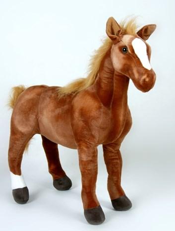 Plyšový kůň  Arabský plnokrevník 78 cm