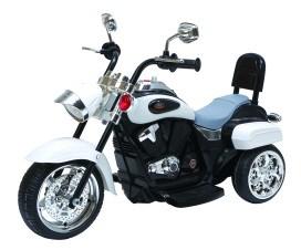 Dětská motorka černobílá