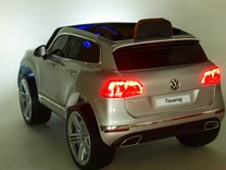 Dětské elektrické auto SUV Volkswagen Touareg s 2,4G DO , lakované - DKF666blue