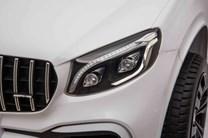 Dětské el. autíčko Mercedes GLC 63S AMG 4x4 pro 2 děti s 2.4G DO lakovaný modrý