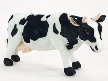 Plyšová kráva stojící