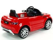 Dětské el. autíčko Licenční Range Rover EVOQUE červená pravý bok