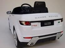 Dětské el. autíčko Licenční Range Rover EVOQUE bílý