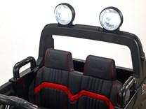Dětské elektrické autíčko  džíp Ford Ranger Monster Truck 4x4  černá metalíza