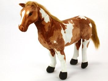 Plyšový kůň American Paint Horse  78cm