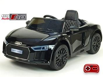 Dětské el. autíčko Audi R8 Spyder s 2.4G DO černá