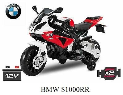 Dětská el. motorka licenční BMW JT528.red
