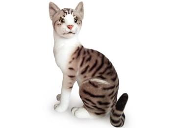Plyšová sedící kočka Májová 46cm