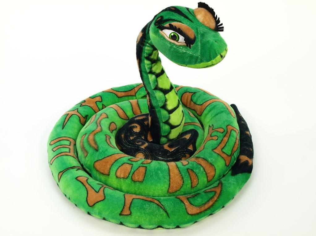 Plyšový had 300 cm