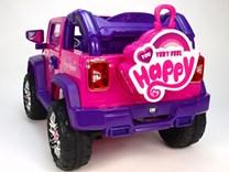 Dětský elektrický džíp Reback - JJ235.pink