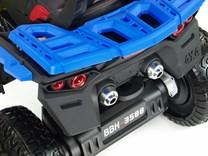 Dětská elektrická čtyřkolka Maverick 4x4 modrá
