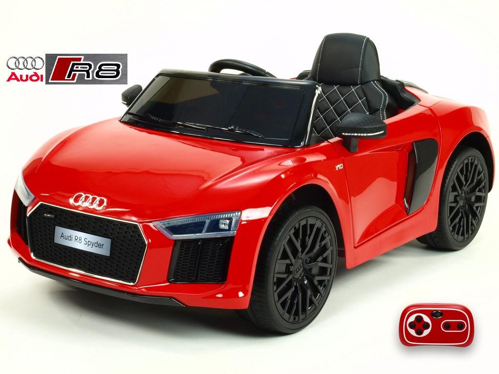 Dětské el. autíčko Audi R8 Spyder s 2.4G DO