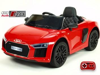 Dětské el. autíčko Audi R8 Spyder s 2.4G DO červená