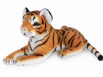 Plyšový tygr ležící