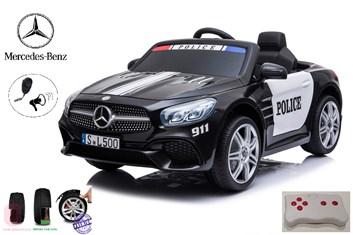 Dětské elektrické autíčko Mercedes- Benz SL 500  Policie Version