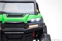 Dětské elektrické farmářské  auto  s 2,4G DO - zelenožlutý