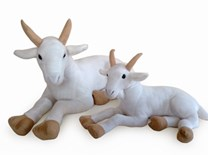 Plyšová koza - skladem od 17.2.2018