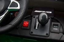 Dětské el. autíčko Mercedes Benz GT-R pro 2děti  s DO 2,4G- červené